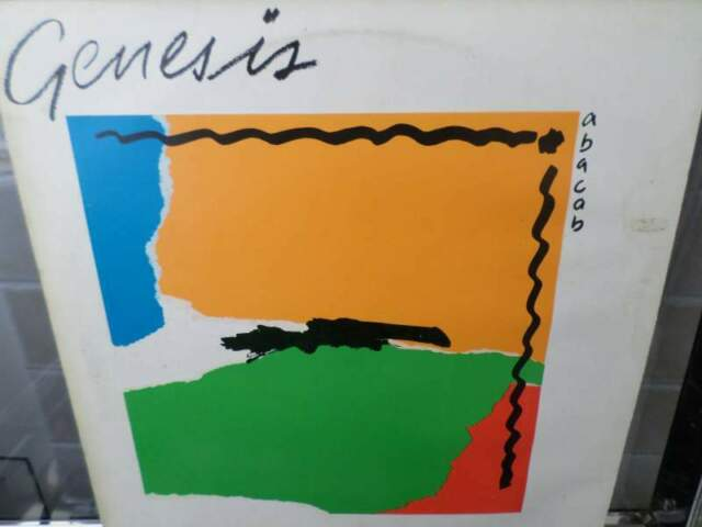 GENESIS - Abacab - LP / 33 giri  BLACK LABEL Vertigo