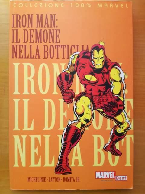 Iron-man - il demone nella bottiglia 100% marvel panini