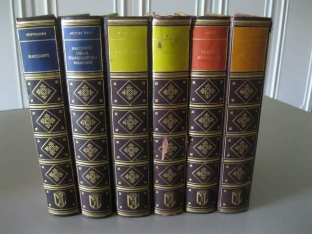 6 volumi Edizioni per il club del Libro, Anni