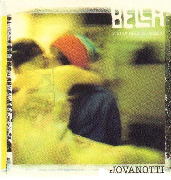 """Jovanotti cds """" bella"""" promozionale in spagnolo"""