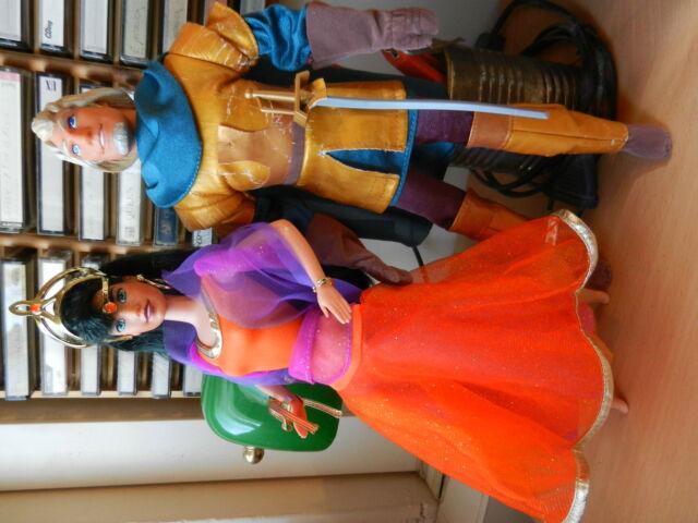 Barbie Esmeralda e Phoebus Il Gobbo di Notre Dame (Mattel