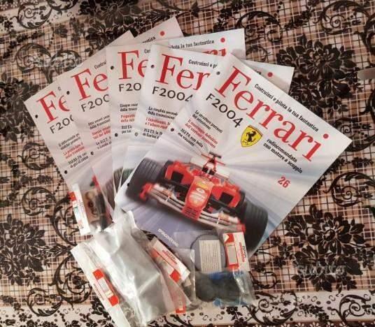Kyosho kit montaggio Ferrari F scala 1:8 dal 3 al 61