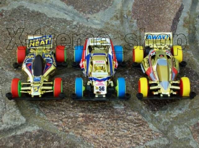 Tamiya mini 4wd CHAMPION'S GOLD collection