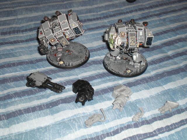 Warhammer 40k - Space Marine - 2x Dreadnought