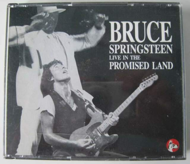 Bruce Springsteen LIVE IN THE PROMISED LAND 3 CD Great Dane