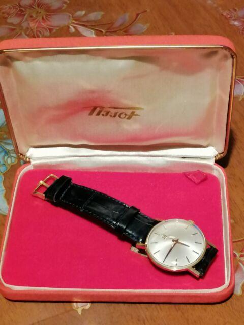 Autentico orologio tissot in oro 18k.. Anni 60