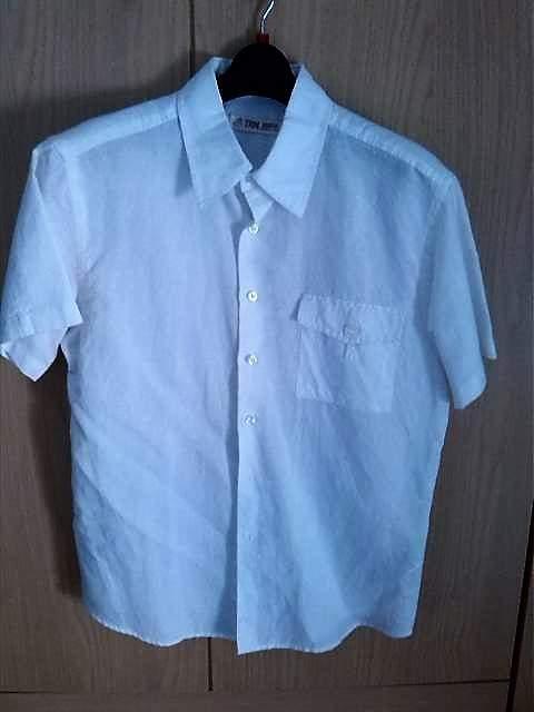 Camicia Bianca Nuova In Lino Taglia M