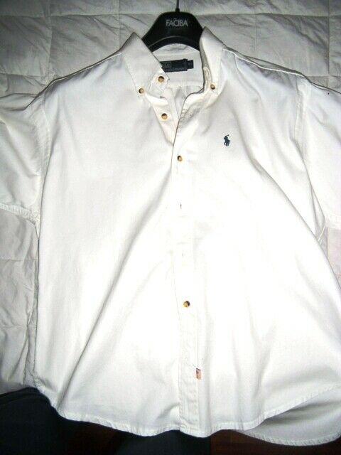 Camicia Ralph Lauren L bianca uomo