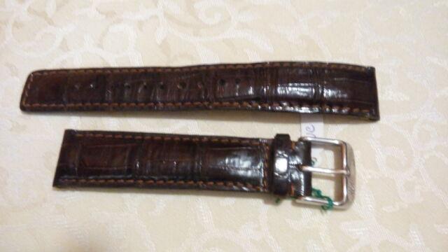 Cinturino IWC vintage originale vera pelle 20 mm