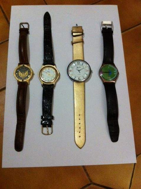 N.4 Orologi di varie marche