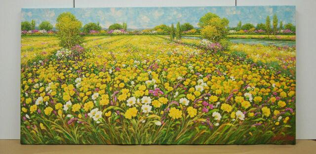 Dipinto Olio su tela cm. 100 x 50