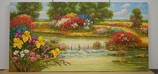 Dipinto Olio su tela cm. 120 x 60