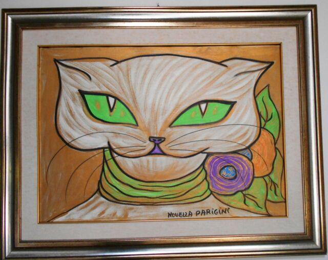Novella Parigini dipinto 50 x 70 cm