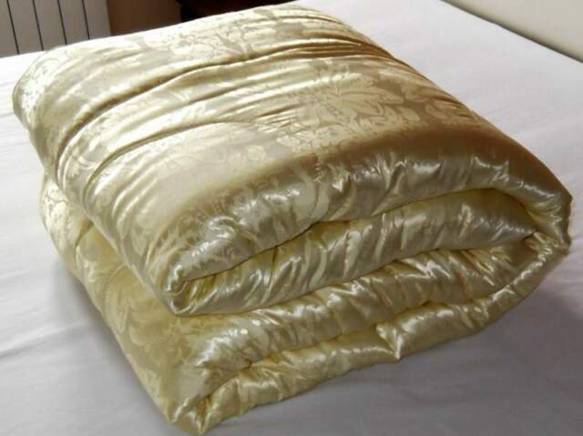 Piumone 100% Seta Pura Matrimoniale 200 x 230 cm