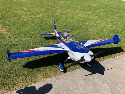 Vendo Extra 300 Extreme flight 2.60 aa completo