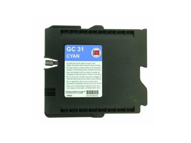 Cartuccia compatibile RICOH GC31 CYAN