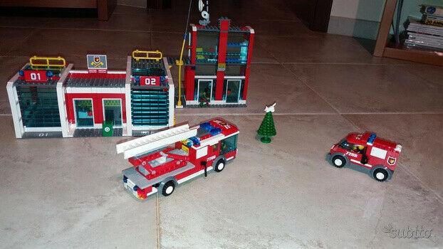 Caserma dei pompieri Lego