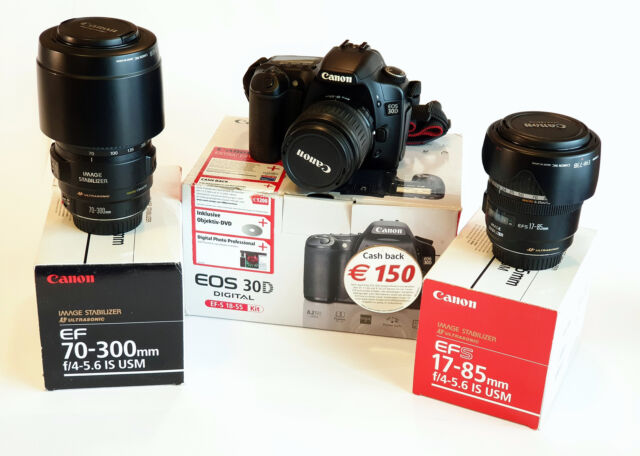 Corredo Canon EOS 30D- originali