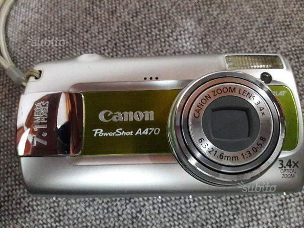 Fotocamera digitale Canon A470