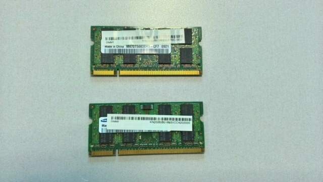 Sodimm 2GB DDR2 PCMHz