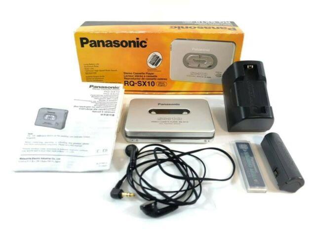 Walkman Stereo Cassette Player Panasonic RQ-SX10 + Scatola