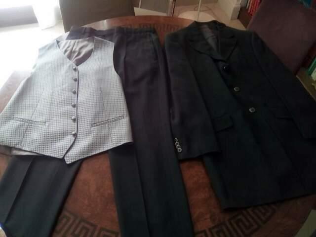 Abito vestito da uomo vintage anni 90 Carlo Pignatelli gilet