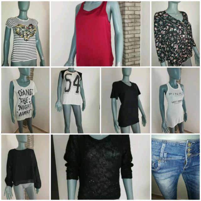 Lotto Stock Abbigliamento Donna Originale Firmato