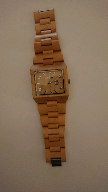 "Orologio Uomo WE WOOD Quartz ""100% NATURAL WOOD"""
