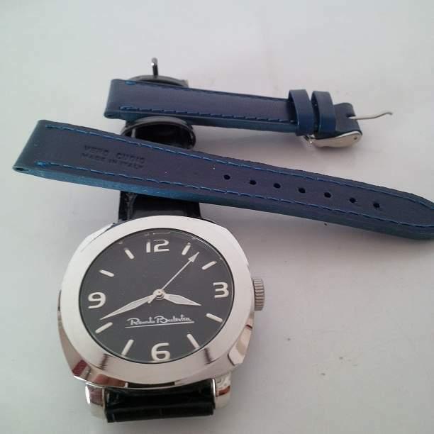 Renato Balestra orologio + Cinturino bluette cuoio, Sp