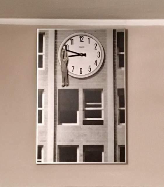 Orologio da parete Harold Lloyd  Back to the Future