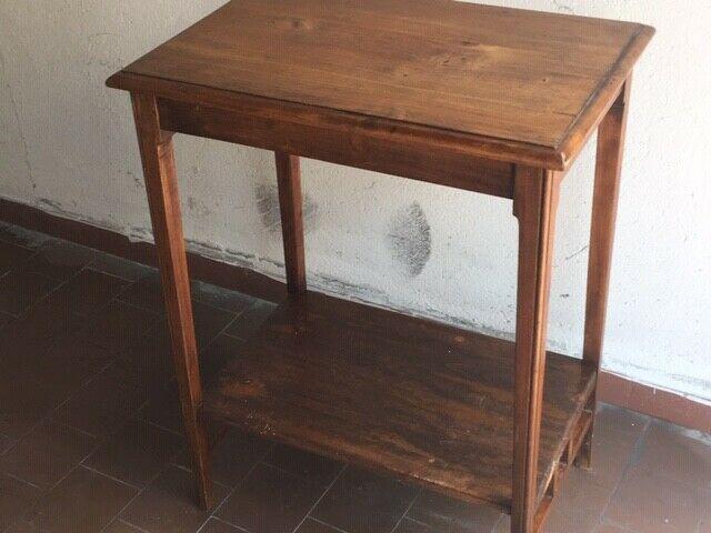 Tavolino in noce antico fine 800