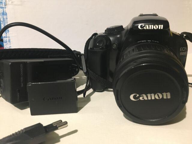 Canon D con obiettivo
