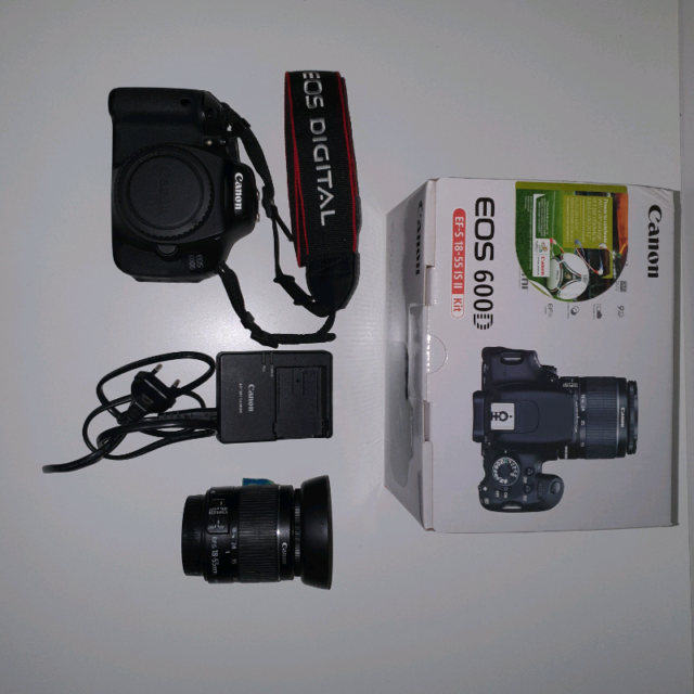 Canon Eos 600D + obiettivo Canon mm