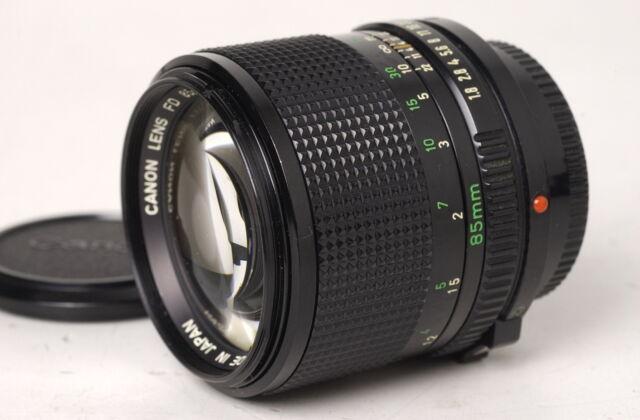 Canon FD 85mm f.1,8 NEW