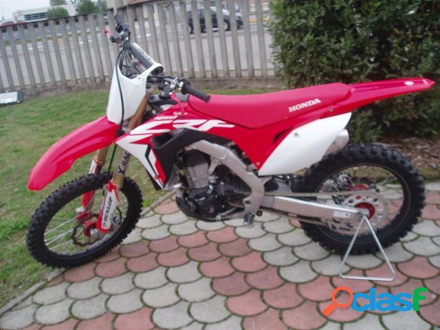 Honda CRF 450 R in vendita a Orzinuovi (Brescia)