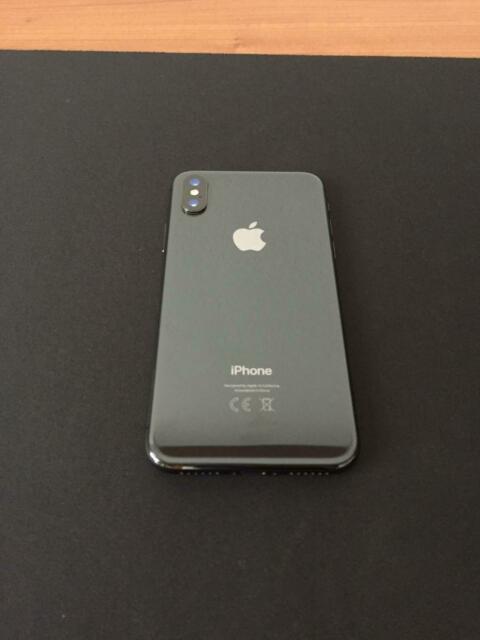 IPhone X 64GB Nero in garanzia