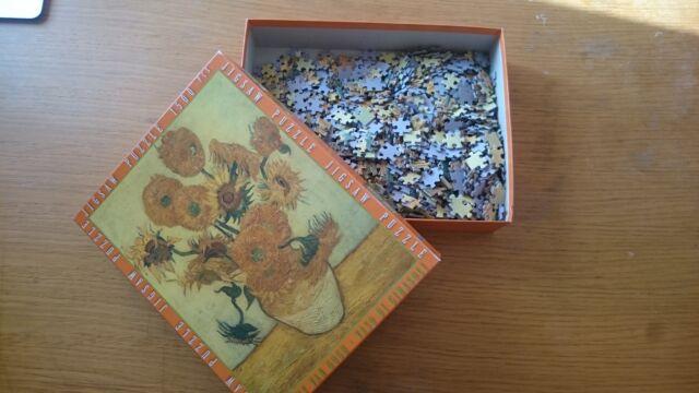 """Puzzle """"i Girasoli"""" di Van Gogh  pezzi difficoltà"""
