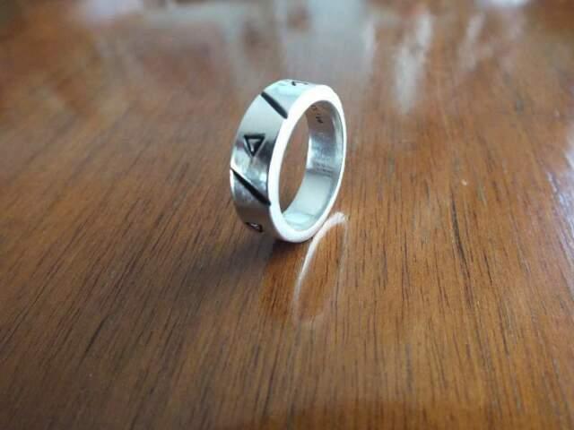Anello unisex in argento 925% (Perfetto)