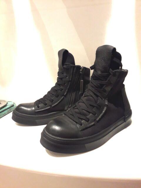 Cinzia araia copia by neserv sneakers alte lacci zip nere 41