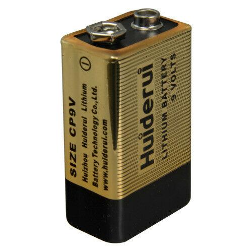 Batteria cp9v 9.0 v batt-cp9v sorveglianza videosorveglianza