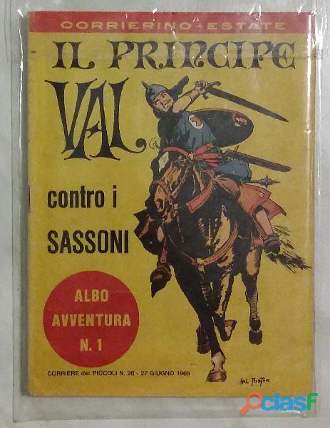 Il Principe Val contro i Sassoni n.1 albo avventura 27