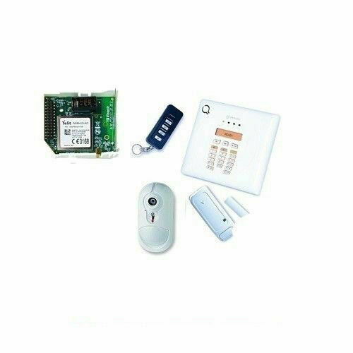 Kit centrale wireless bw30+ bw-rch+ bw-mcn + bw-irc+ bw-com