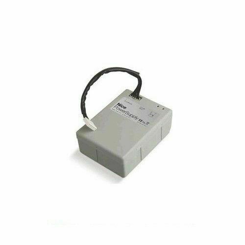 Nice ps124 batteria con caricabatteria per sistema sbar e