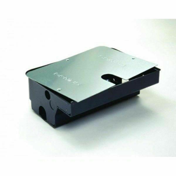 Roller box cassetta di fondazione in acciaio coperchio