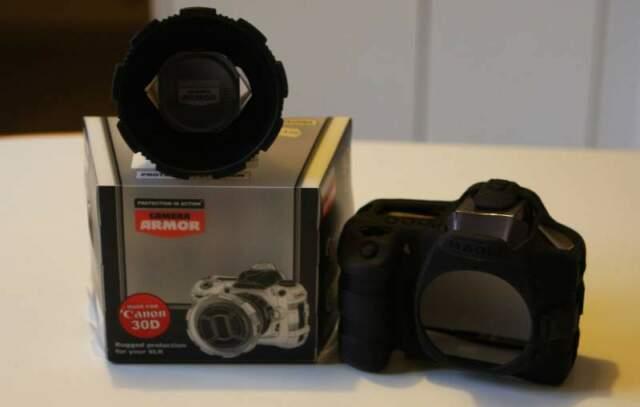 Custodia in silicone per Canon EOS 30D