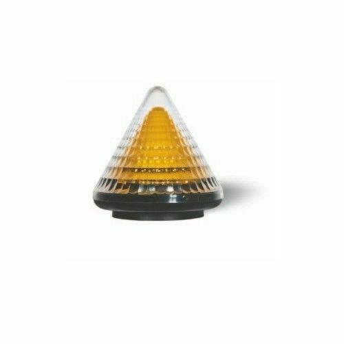 Lampeggiatore a led v con antenna integrata cardin