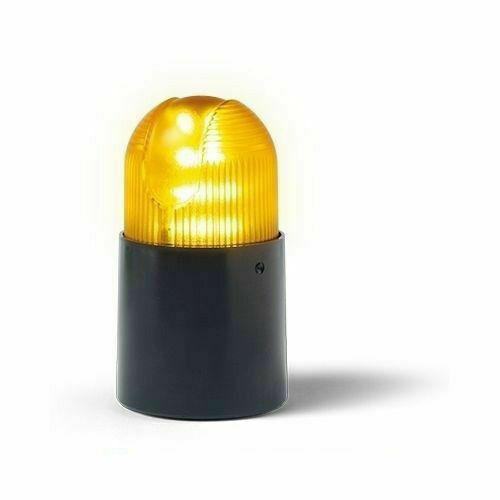 Lampeggiatore elettronico a led giallo cardin lpxlamp