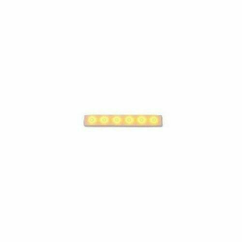 Lampeggiatore elettronico a led giallo per portoni cardin
