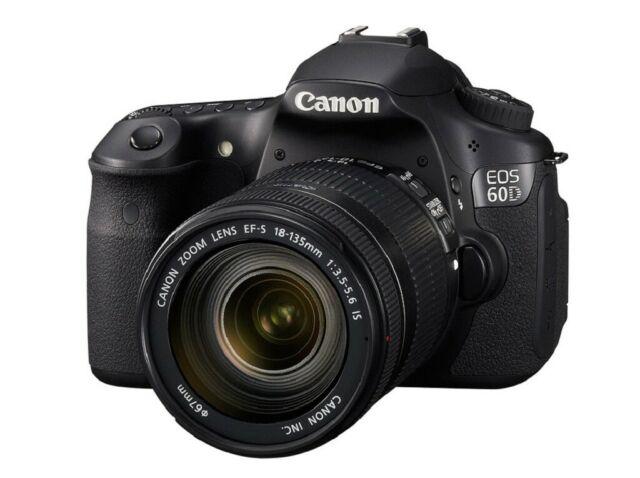 CANON 60D reflex ( scatti + scatola + accessori)