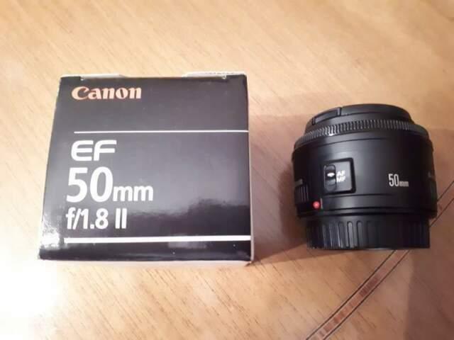 Canon EF 50 mm f1.8 II
